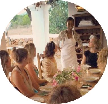 retreat-table on ibiza